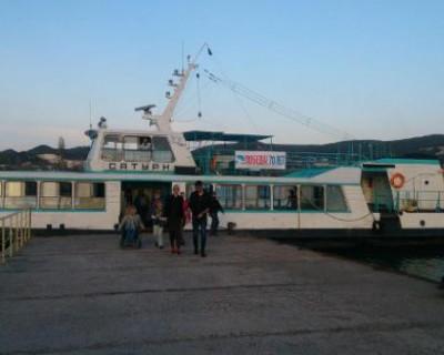 В Севастополе отменены вечерние пассажирские катера в Инкерман