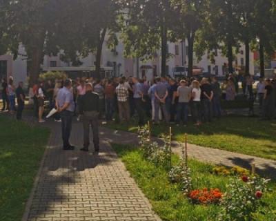 В Белоруссии началась политическая забастовка
