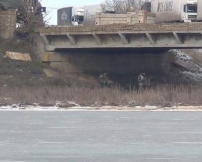 Погранслужба ФСБ: Автомобильные мосты на границе с Крымом заминированы украинскими военными