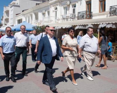 Врио губернатора Севастополя провел рабочие встречи в Балаклаве