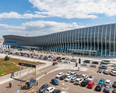 В июле услугами аэропорта Симферополя воспользовалось 915 тысяч пассажиров