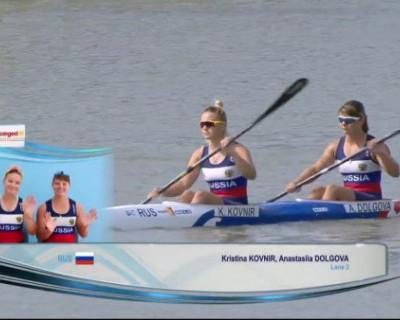 Севастопольская спортсменка выиграла золото на чемпионате России по гребле