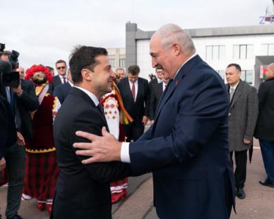 Зеленский обиделся на Лукашенко