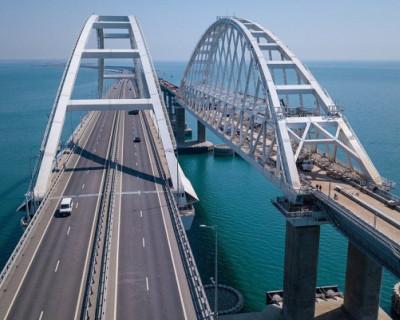 На Крымском мосту зафиксирован новый рекорд