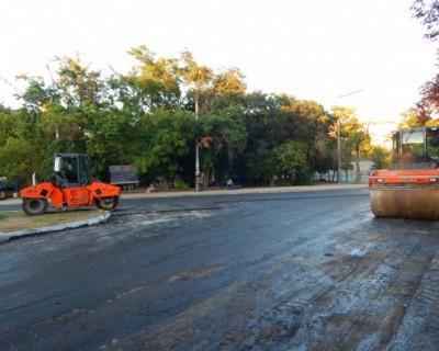 В Севастополе продолжается ремонт городских улиц