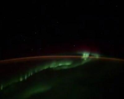 Российский космонавт заснял НЛО (ВИДЕО)