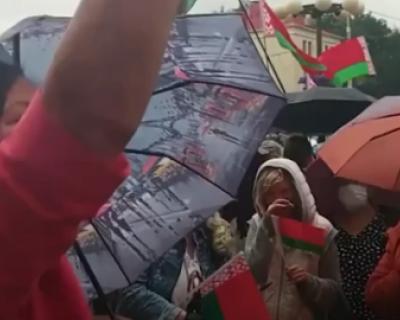 Сторонники Лукашенко заявили, что их противники отправятся в ад (ВИДЕО)