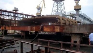 Херсонский судостроительный завод, одно из крупнейших судостроительных предприятий Украины,  приказало долго жить
