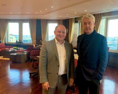 Врио губернатора Севастополя встретился с мэром Москвы