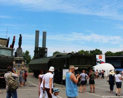 В Севастополе открылся военно-технический форум «Армия-2020»