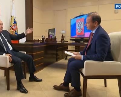 Путин рассказал о задержании бойцов ЧВК «Вагнер»в Белоруссии (ВИДЕО)