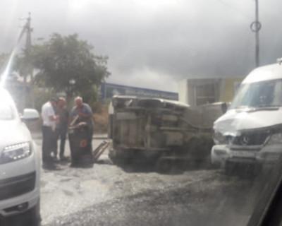 Аварийная ситуация на дорогах Севастополя остаётся напряжённой