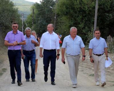 В Байдарской долине завершилось строительство двух участков водовода