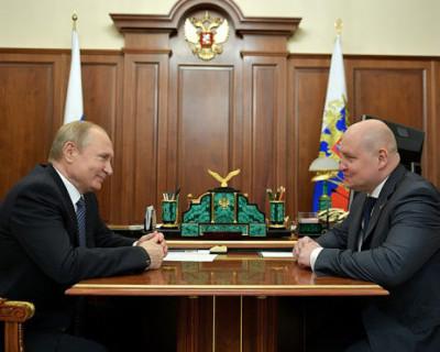 Владимир Путин встретился с врио губернатора Севастополя (ПОДРОБНОСТИ)
