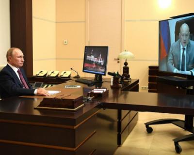Михаил Развожаев попросил Владимира Путина помочь решить проблемы с водоснабжением Севастополя