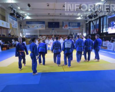 «ИНФОРМЕР» посмотрел, как спортсмены готовятся к «Кубку городов-героев по дзюдо»
