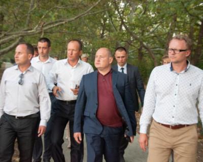 Врио губернатора Севастополя обсудил перспективы развития Андреевки