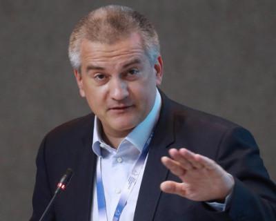 Глава Крыма потребовал возбудить уголовное дело в отношении организаторов водной блокады Крыма