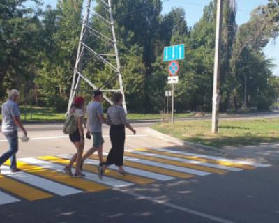 В Севастополе появляются новые пешеходные переходы