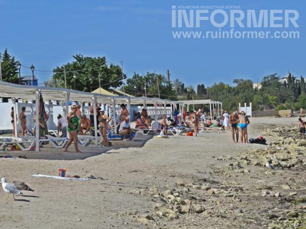 омега пляж Севастополь после сезона