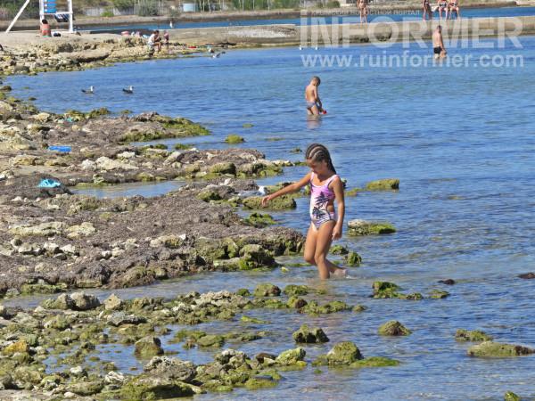 омега пляж Севастополь уехали Отдыхающие