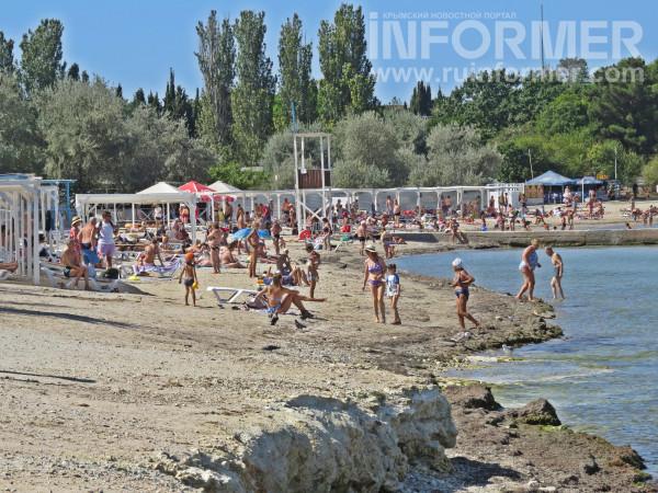 пляж омега Севастополь закрытие купального сезона