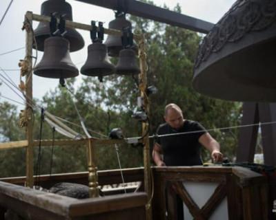 В Свято-Владимирском соборе в Херсонесе установлен электронный звонарь