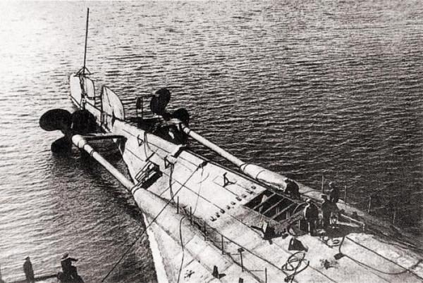 флот линкор взрыв
