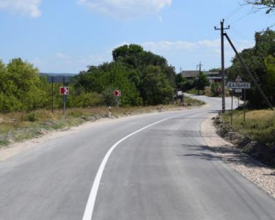 В селе Дальнее завершен ремонт дороги