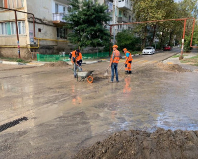 «Севавтодор» очищает дороги после непогоды