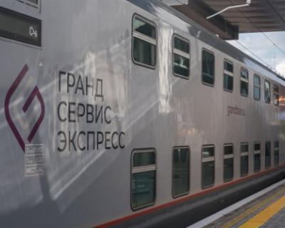 Более полумиллиона пассажиров перевезли поезда «Таврия»