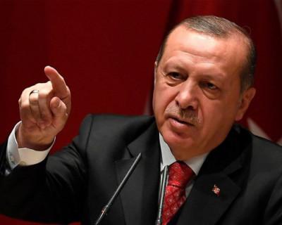 Эрдоган обвинил Россию в оккупации Крыма и развязывании кризиса в Черном море