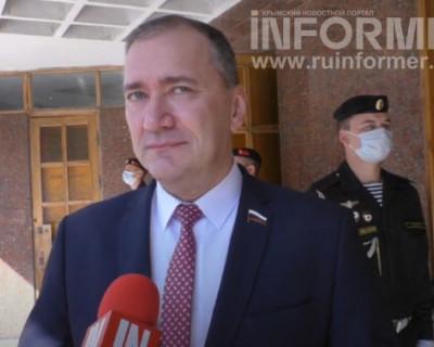 Дмитрий Белик поздравил Михаила Развожаева со вступлением в должность губернатора Севастополя