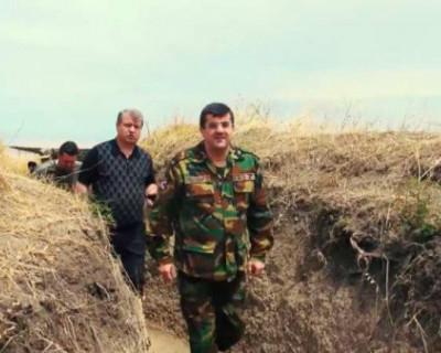 Президент Нагорного Карабаха отправился на фронт