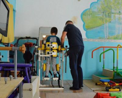 Детский центр медицинской реабилитации Севастополя получил новую аппаратуру
