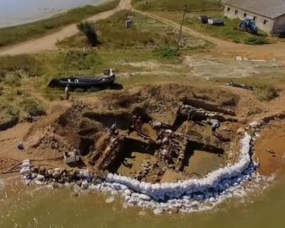 В Крыму нашли древнюю улицу, которой почти 2 тысячи лет