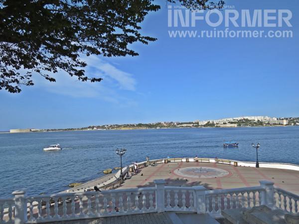 Севастополь лето жарко