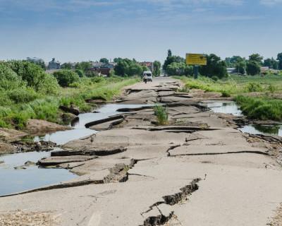 В Крыму почти нет дорог!