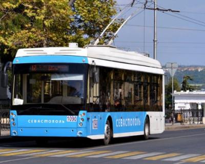 Директор департамента транспорта Севастополя пожаловался на аккумуляторы троллейбусов