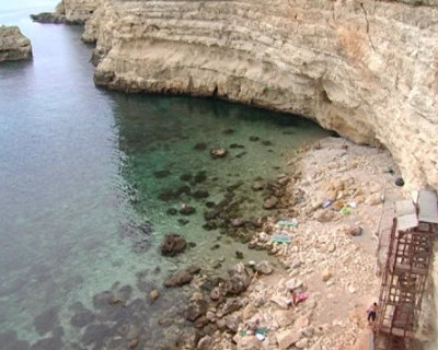 Лестница к морю на Фиоленте демонтирована, кому от этого станет легче?