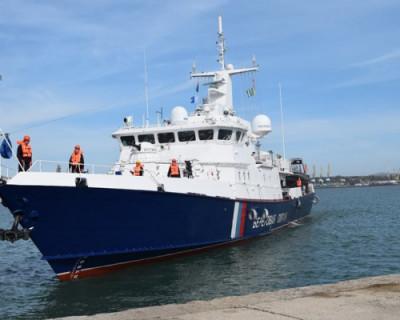 Крымские пограничники получили новый быстроходный корабль