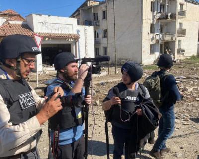 Телеканал «Крым 24» отправил журналистов в Армению для освещения войны в Нагорном Карабахе
