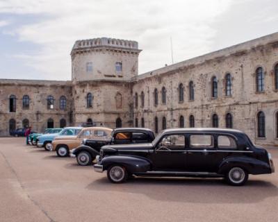 Выставка ретроавтомобилей в Севастополе