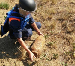 Сотрудники МЧС Крыма обезвредили 13 авиабомб