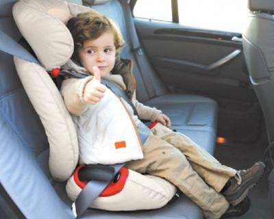 Автомобильное кресло спасло ребенка в ДТП