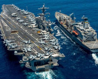 Появятся ли авианосцы США и Великобритании в Черном море?