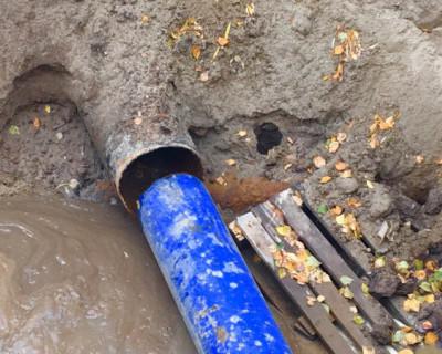 В Севастополе проводятся ремонтные работы на магистральных водопроводах