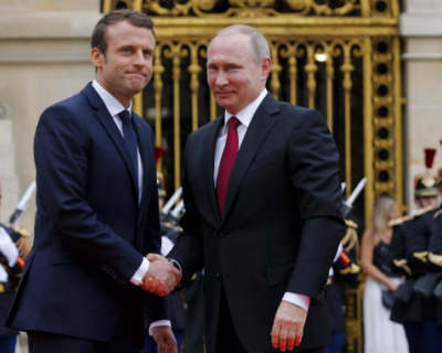 Владимир Путин выразил соболезнование Эммануэлю Макрону
