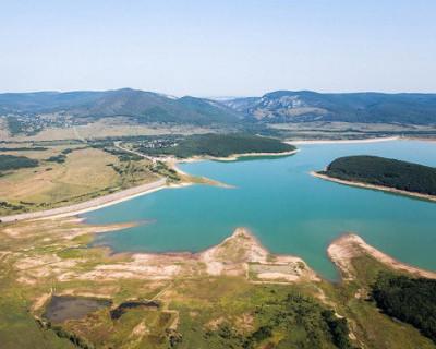 Дожди пополнили Чернореченское водохранилище Севастополя