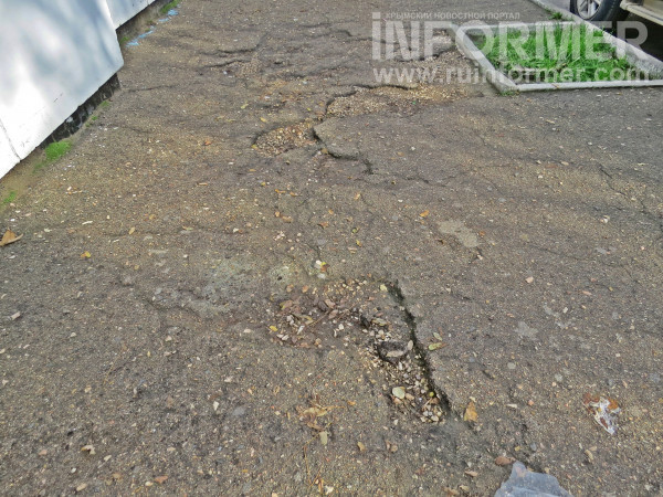 Севастополь рынок ремонт тротуар